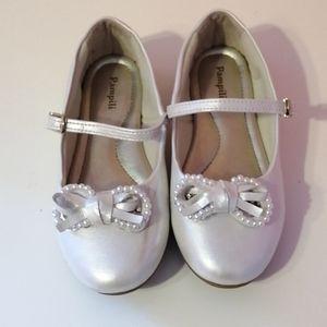 Pampili Girls Ballerina Dress Shoes